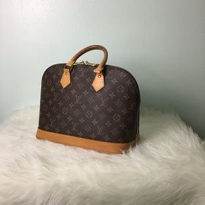 100% Authentic Louis Vuitton Alma